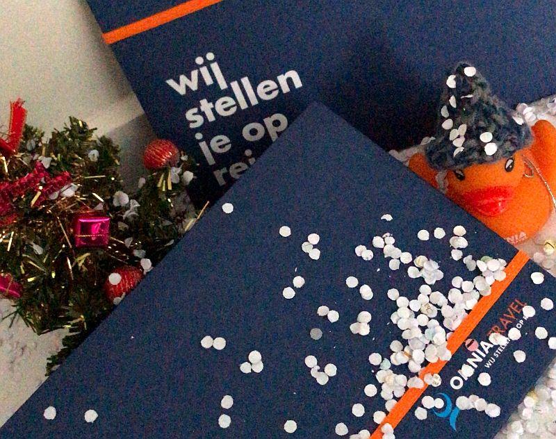 Omnia Travel reischeque - Het ideale eindejaarsgeschenk