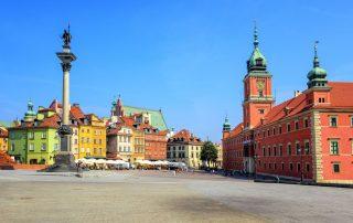 Rondreis Polen - Historisch centrum van Warschau - UNESCO-Werelderfgoed