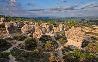 Geuren van de Provence - Forcalquier - Rochers des Mourres