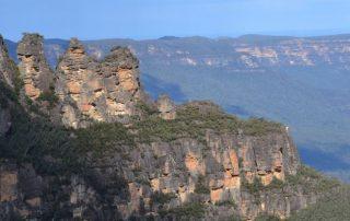 Australië, de favoriete bestemming van collega Valentijn - berglandschap