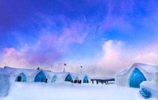 Overnachten in een magisch ijshotel in Canada - Hotel de Glace