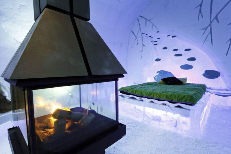 Overnachten in een magisch ijshotel in Canada - Suite