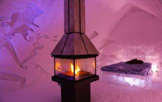 Overnachten in een magisch ijshotel in Canada - Premium Suite