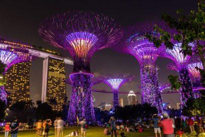 Rondreis Maleisië - Gardens by the Bay - Singapore