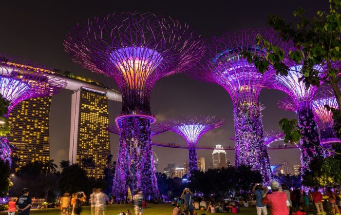 Rondreis Maleisië - Gardens by the Bay - Singapore