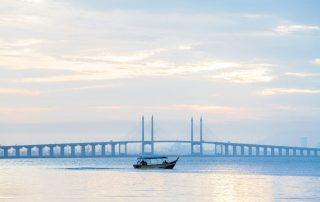 Rondreis Maleisië - Penang Bridge - George Town Penang - Maleisië