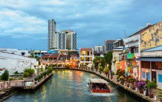 Rondreis Maleisië - oude stad van Malakka - Maleisië