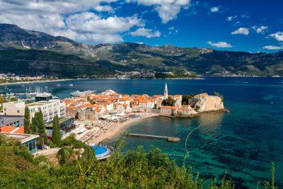 Rondreis Montenegro - Budva - oude stad