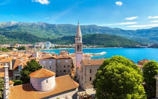 Rondreis Montenegro - Budva - oude stadscentrum