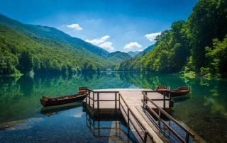 Rondreis Montenegro - zicht op Biogradsko meer