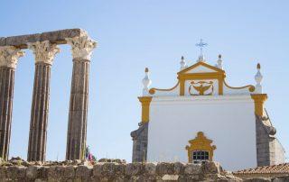 Rondreis Portugal - Evora - Templo de Diana
