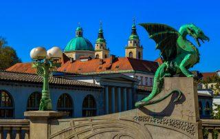 Rondreis Slovenië - Drakenbrug - Ljubljana