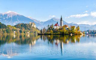 Rondreis Slovenië - het meer van Bled