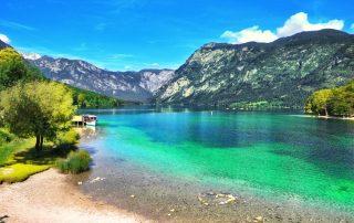 Rondreis Slovenië - meer van Bohinj