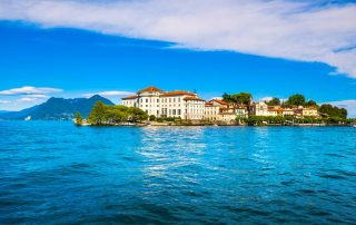 Rondreis langs de Noord-Italiaanse meren - Isola Bella in het Lago Maggiore - een Borromeïsch eiland gezien vanuit Stresa