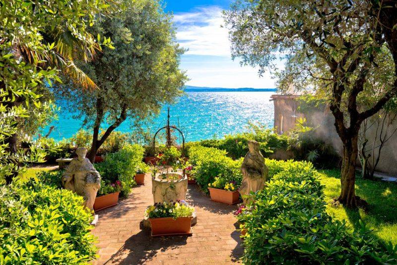 Rondreis langs de Noord-Italiaanse meren - Sirmione - park - Gardameer