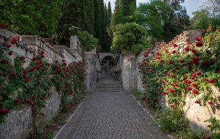 Rondreis langs de Noord-Italiaanse meren - tuin van villa Gabriele d'Annunzio - Gardone Riviera - Gardameer