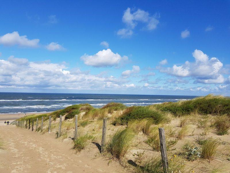 Uitwaaien aan de Nederlandse Kust - Noordwijk duinen, strand en zee