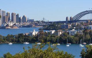 Australië, de favoriete bestemming van collega Valentijn - skyline Sydney