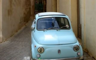 Malta, Gozo op twee wielen - Fiat 500