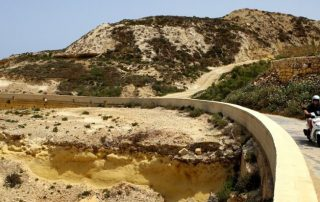 Malta, Gozo op twee wielen - Noordelijke kustlijn