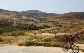 Malta, Gozo op twee wielen - beklimming citadel