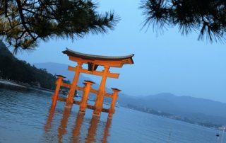 Japan, favoriete bestemming van onze collega Tom - Hakone - Lake Ashinoko - torri