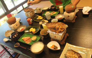 Japan, favoriete bestemming van onze collega Tom - Japanse maaltijd