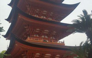 Japan, favoriete bestemming van onze collega Tom - Miyajima pagoda