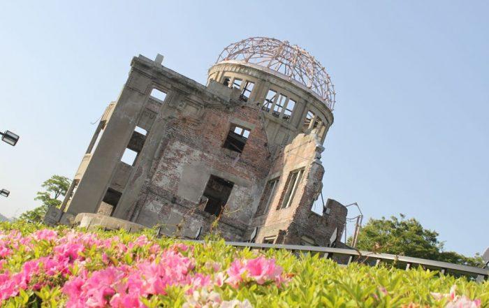 Japan, de favoriete bestemming van collega Tom - Ruïne Hiroshima Dome