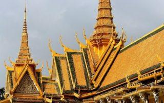 De Mekong, riviercruise van Vietnam naar Cambodja - Koninklijk Paleis Phnom Penh