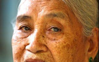 De Mekong, riviercruise van Vietnam naar Cambodja - lokale dame