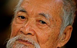 De Mekong, riviercruise van Vietnam naar Cambodja - lokale heer