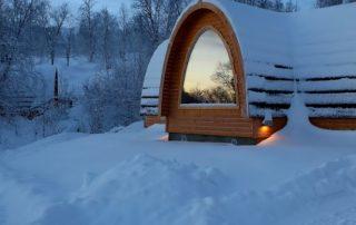 Noorwegen, tussen licht en donker - Gamme Cabins
