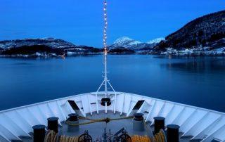 Noorwegen, tussen licht en donker - MS Kong Harald