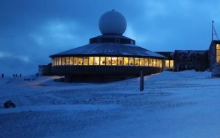 Noorwegen, tussen licht en donker - museum noordkaap