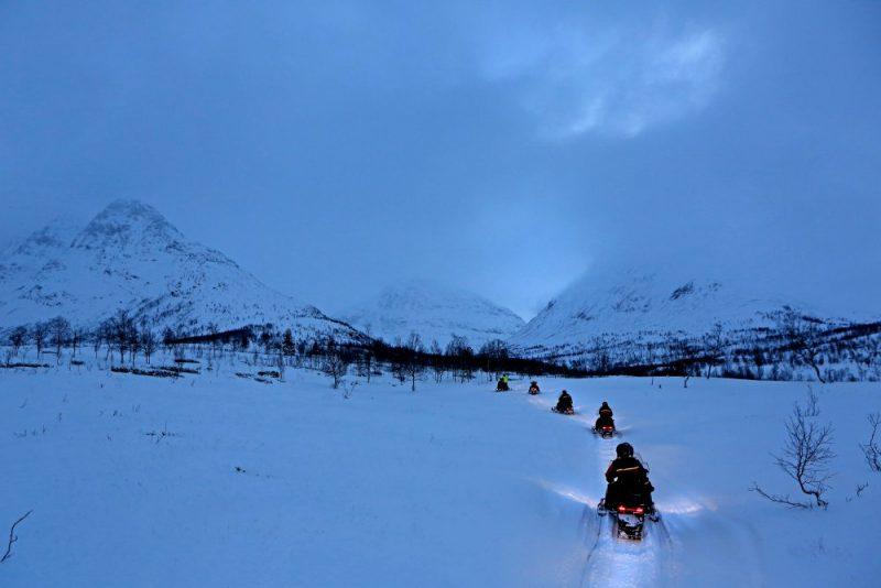 Noorwegen, tussen licht en donker - twilight sfeer