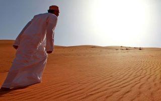 Oman, onwaarschijnlijk oppermachtig - Wahibi sands desert