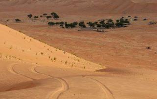 Oman, onwaarschijnlijk oppermachtig - Wahibi woestijn
