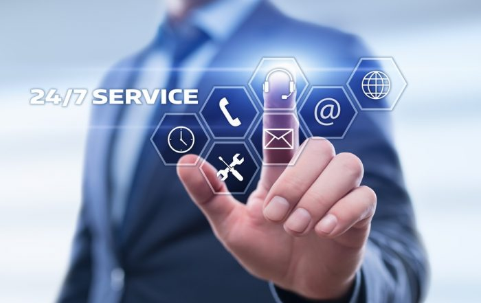 Service 24-7 - ook in noodsituaties