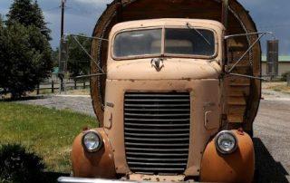 Amerika, de grilligheid der natuur - old truck