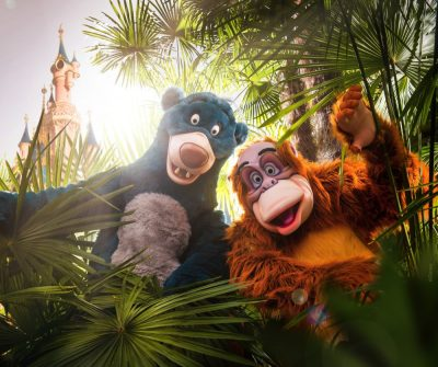 Disney s early booker - Baloo en king Louie (Disneyland® Paris)