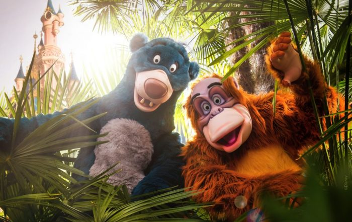 Disney s early booker - Baloo en king Louie (Disneyland® Paris)