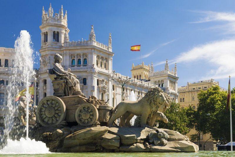 Bruisende citytrip Madrid en Toledo - Cibeles fontein - Madrid