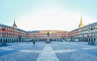 Bruisende citytrip Madrid en Toledo - Plaza Mayor - Madrid