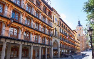 Bruisende citytrip Madrid en Toledo - Plaza de Zocodover - Toledo