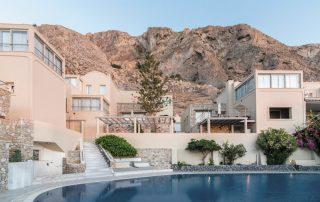 Mykonos en Santorini - Antinea Suites Hotel & Spa - zwembad