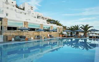 Mykonos en Santorini - Myconian Ambassador Relais & Châteaux - zwembad