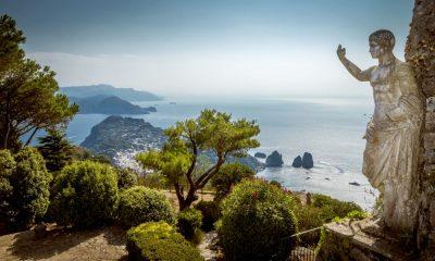 Naar de groene oases naast Napels - uitzicht op zee