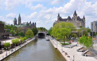 Vertrek op vaarvakantie - Ottawa